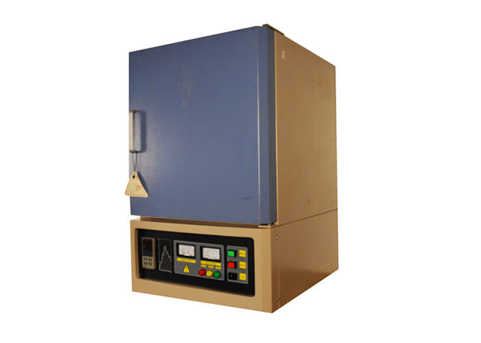 Observation Hole Vertical Muffle Furnace , 20°C / Min Electric Heated Furnace