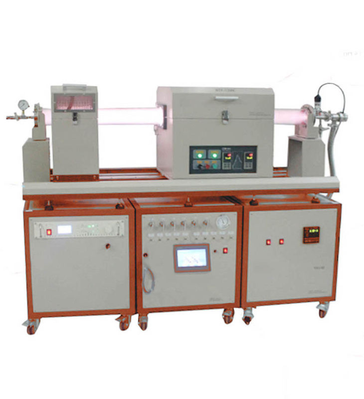 1200℃ Vacuum Tube Furnace Plasma Enhanced LPCVD Furnace With Vacuum Pump